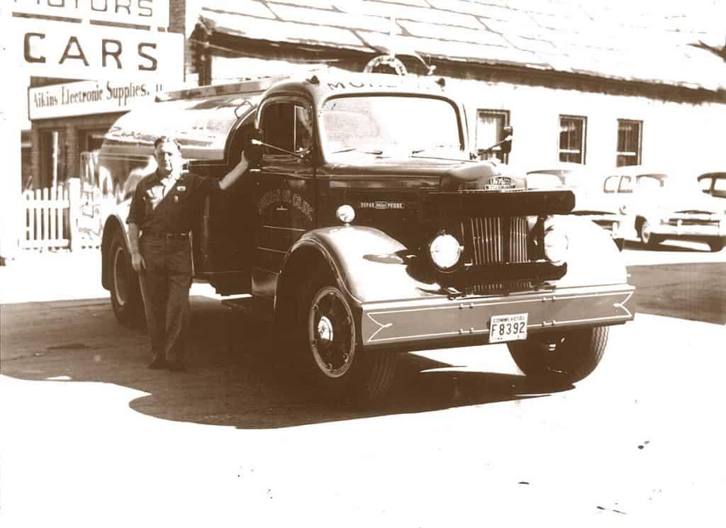 Mohegan Oil Antique Heating Oil Truck in Connecticut